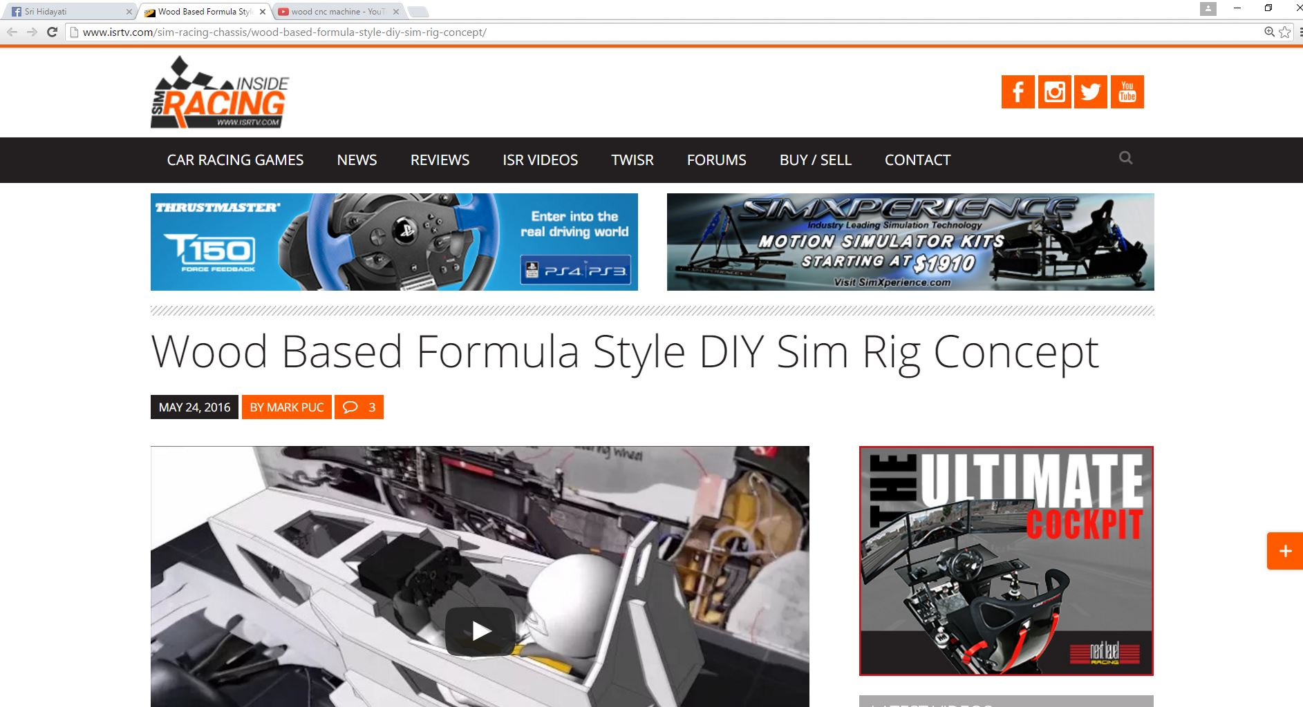 Formula V2 Featured in ISRTV com – HM Engineering